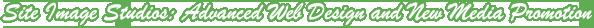 Site Image Studios Web Design Footer Banner